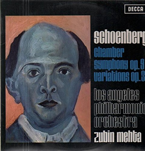 Chamber Symphony op. 9, Variations op. 31 (Zubin Mehta) (Chamber Mehta Schoenberg)