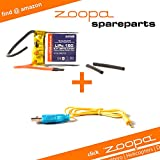 ACME - zoppa 150 helicopter sparepart-set | USB charging cable + battery (AA0150-A)