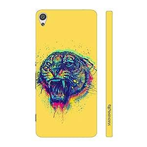 Enthopia Designer Hardshell Case Tiger Roar Back Cover for Sony Xperia XA Ultra