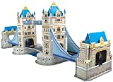 Playtastic Puzzle Bauwerk: Faszinierendes 3D-Puzzle Tower Bridge in London, 41 Puzzle-Teile