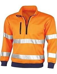 Warnschutz-Sweatshirt,75%PES/25%Co nach EN 471
