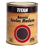 Titan M52140 - Barniz para suelos de madera satinado 0 5 l