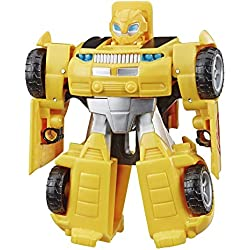 Transformers Playskool Rescue Bots Academy - Robot Secouriste Bumblebee de 11 cm - Jouet Transformable 2 en 1