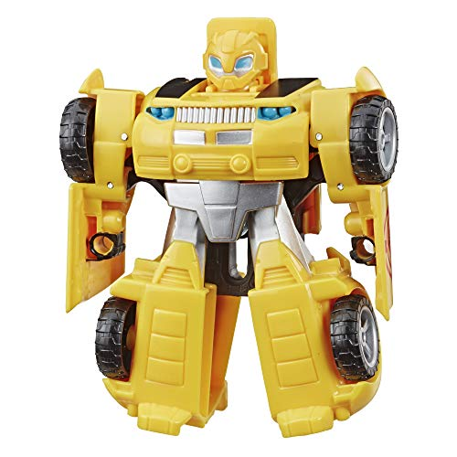 Transformers Playskool Rescue Bots Academy - Robot Secouriste Bumblebee de 11 cm - Jouet Transformable 2 en 1