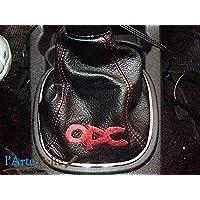 Opel Corsa D cuffia cambio con ricamo OPC