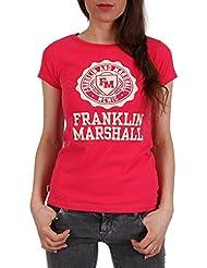 "Franklin & Marshall Damen T-Shirt ""JERSEY "" dorm pink"