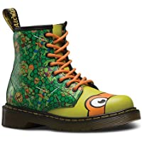 Dr. Martens Mikey T Lamper Boot Green Orange