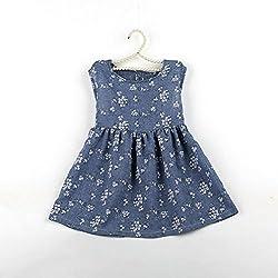 Princess Dress, Transer® Baby Girls Trendy Dress 1-6 Years Kids Clothes born Sleeveless Dress Summer Kids Baby Girls Floral Princess Dress Vest Clothes
