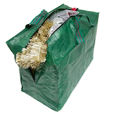 Christmas Decorations Zipped Storage Bag with Handles 46 x 38
