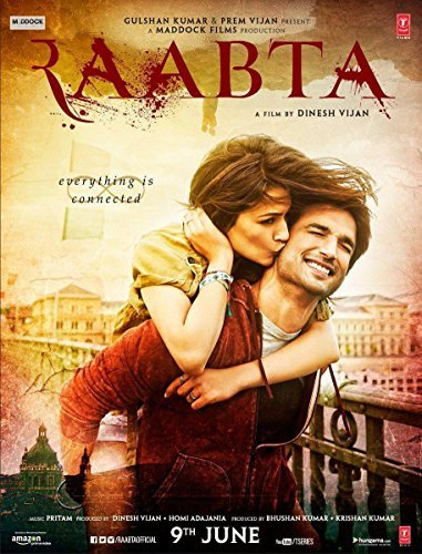 Raabta (Brand New Single Disc, Hindi Language, With English Subtitles, Released By T-Series)