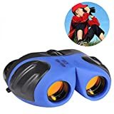 Wiki Kids Toys, Compact Binoculars for Kids Hunting Bird Watching Toys for 3-12 Year Old Boys Gifts for 3-12 Year Old Girls toys for 3-12 Year Old Girls Gifts for 3-12 Year Old Boys Blue WKWYJ02