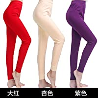 YMFIE La Sra. Delgado pantalón de algodón son sencillos y cómodos pantalones caliente 3 M-XXL,m,f
