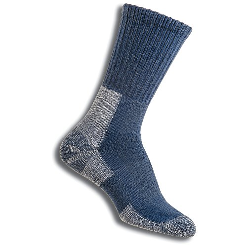 Thorlos Damen-Wandersocken Blau Dust Blue M