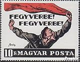 Ungarn 2491A (kompl.Ausg.) 1969 Gründung Räterepublik (Briefmarken für Sammler)