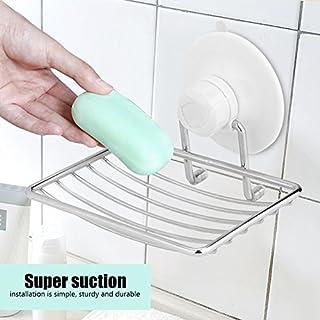 Starke Saugnapfhalter, Bad Dedicated Removable Seifenhalter - Soap Dish Basket Tray