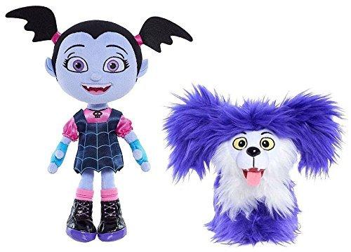 DisneyJr Vampirina peluche jr vampirina e wolfie il cane
