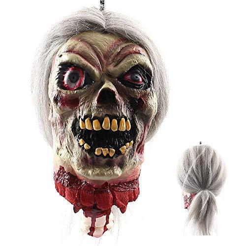 Halloween masquerade teste spaventose horror vampiro adulto infetto maschera zombie costume spaventoso props costume maschera di grido maschio
