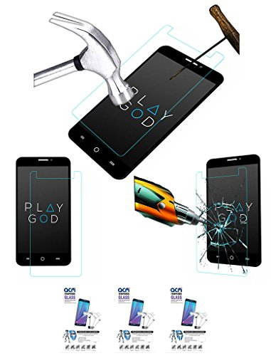 Acm Pack Of 3 Tempered Glass Screenguard For Micromax Yu Yureka A05510 Mobile Screen Guard Scratch Protector  available at amazon for Rs.499
