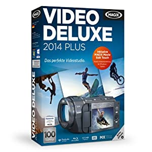 Beste Video-Schnitt-Programme: MAGIX Video Deluxe 2014
