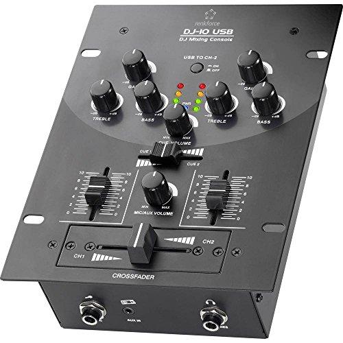 Renkforce DJ10+USB 2-Kanal DJ Mixer