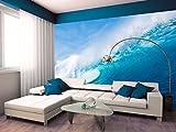 Fototapete WELLE OZEAN MEER WASSER Nr.8T-180 Aufkleber Bildtapete Poster Wandbild ocean waves sea wallpaper wall mural (250x162cm 4-teilig)