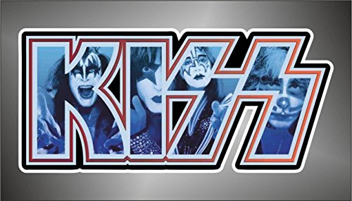Aufkleber - Sticker The Kiss hip hop rap jazz hard rock pop funk sticker