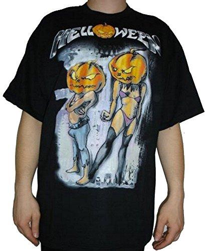 Camiseta Helloween negro negro extra-large