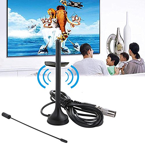 LayOPO High Definition TV-Antenne, Dual Band Antenne (VHF/UHF) mit Lang 50Miles Reichweite, Kompatibel mit 1080p für Innen (Tv-antenne-lange Innen Reichweite)