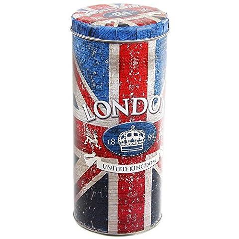 Londres - Boite à Capsules Café Dosette Senseo Londres Drapeau Royaume Uni
