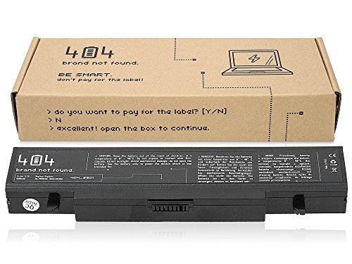Wessper 404Brand Laptop Akku für Samsung NP-R460-FS01 (10.8V, 4400 mAh, schwarz, 6 Zellen)