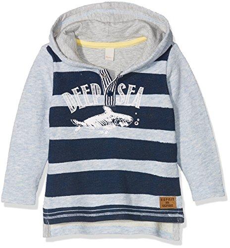 ESPRIT Kids Baby-Jungen Sweatshirt RL1504202, Blau (Light Heather Blue 406), 86