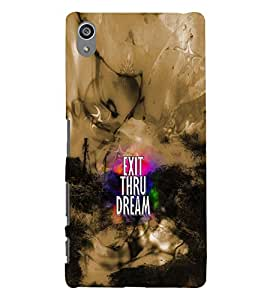 PRINTVISA Quotes Case Cover for SONY XPERIA Z5 PLUS