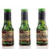 Aranyfacan Dreierpack Ketchup zuckerfrei mit Stevia in einer Glasflasche