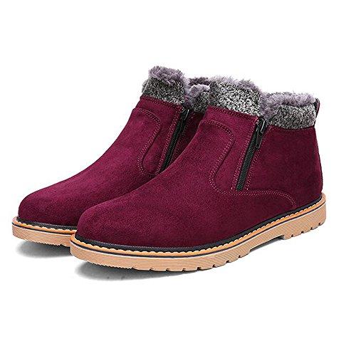 FEIFEI Scarpe da uomo Materiali di alta qualità Inverno antiscivolo Tenere caldo stivali di cotone 3 colori ( Colore : 03 , dimensioni : EU/41/UK7.5-8/CN42 ) 03