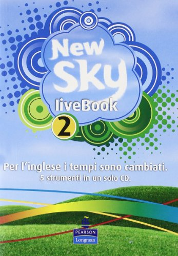 New sky. Student book-Activity book-Sky reader-Livebook. Per la Scuola media. Con CD Audio. Con CD-ROM: 2