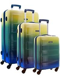 TEKMi CAPRI - Lot de 3 valises - Polycarbonate - Serrure TSA