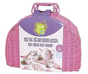 Tachan- Juego de te en Cesta de Picnic (CPA Toy Group Trading S.L. CH90414)
