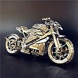 3D Métal Puzzle Dodge / Tomahawk Concept Modèle de Moto DIY 3D Laser Cut Puzzle...