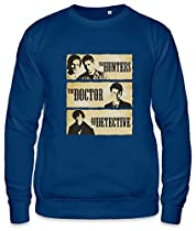 The Hunters The Doctor And The Detective Unisex Sweatshirt