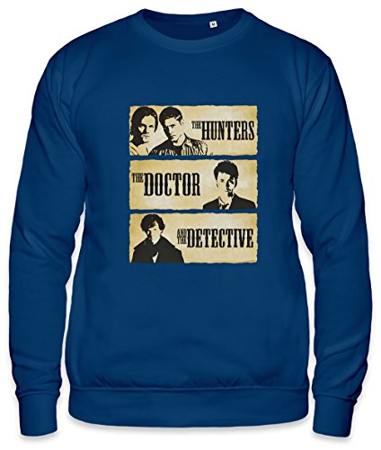 The Hunters The Doctor And The Detective Unisex Sweatshirt, Vêtements