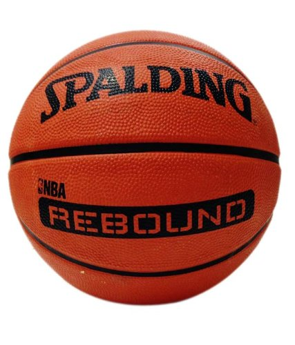 Spalding NBA Rebound, Size 6 (Brick)  available at amazon for Rs.605