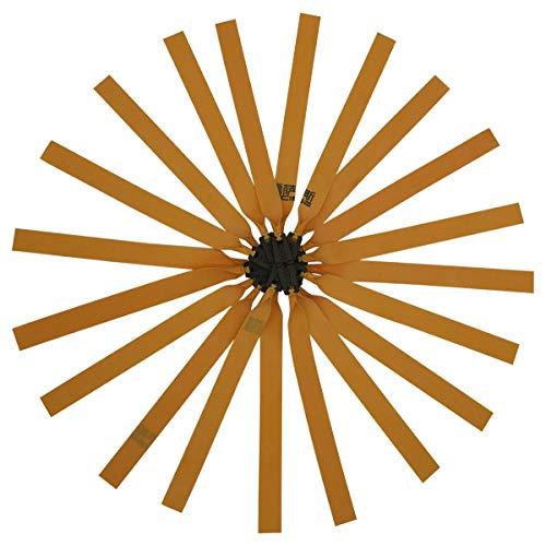 GM&BW 10 Satz Schleuder Gummi-Flachbänder, Katapult-Elastik aus Precise Jagdschleuder Ersatz für Gummiband,für Profispieler oder Jagdkatapult, Dicke 0,75 mm,Stil TTF
