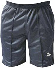 S-Mark Men's Shorts (Black, Free Size, 32-36 Waist Range)