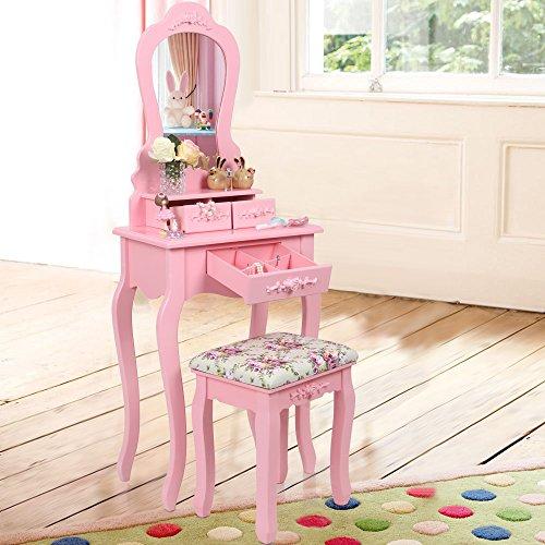 Songmics Schminktisch   RDT30P pink - 2