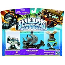 Skylanders: Spyro's Adventure - Adventure Pack - Pirate Seas Adventure Pack (Wii/PS3/Xbox 360/PC) [Importación inglesa]