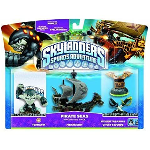 Skylanders: Spyro's Adventure - Adventure Pack - Pirate Seas Adventure Pack (Wii/PS3/Xbox 360/PC) [Importación