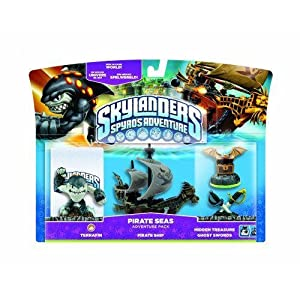 Skylanders: Spyro's Adventure – Pirate Seas Adventure Pack [UK Import]