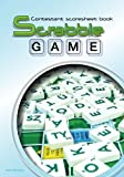 Contestant scoresheet book (Scrabble game): 100 pages scrabble game and scoresheet for 2 players