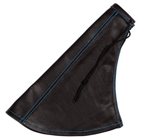 Soufflet de levier de vitesse en simili cuir avec couture//surpiq/ûres couleurs variables AERZETIX noir et rouge