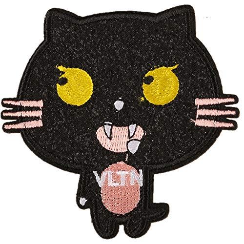 Cop Kostüm Einfach - Obctk Freies Verschiffen 5 Stücke Bügeln-Flecken-Flecken, DIY Geschenk-Tuch-Abzeichen-Stickerei-Flecken-Flecken, Katze Kostüm-Rucksack-Jacken-Jeans-T-Shirt, erwachsenes Kindergeschenk